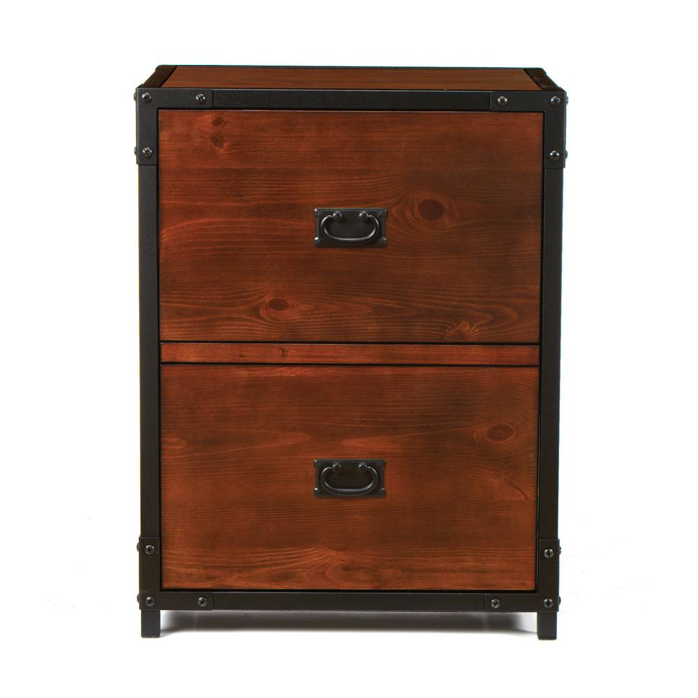 Filing Cabinet Icon Flat Home Decorators Collection Industrial Empire Pine File Cabinet