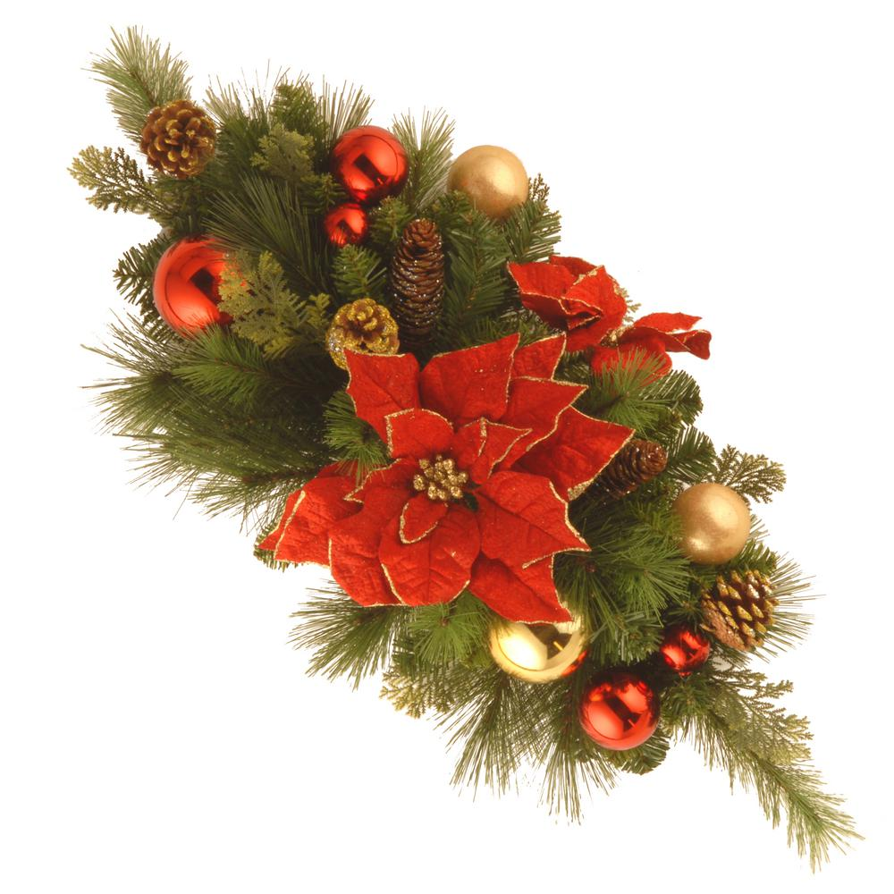 Home Decoration Collection National Tree Company 30 In Decorative Collection Home For The Holidays Centerpiece