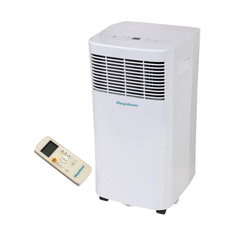 Portable Ac Home Depot Keystone 6 000 Btu 115 Volt Portable Air Conditioner With Dehumidifier And Remote