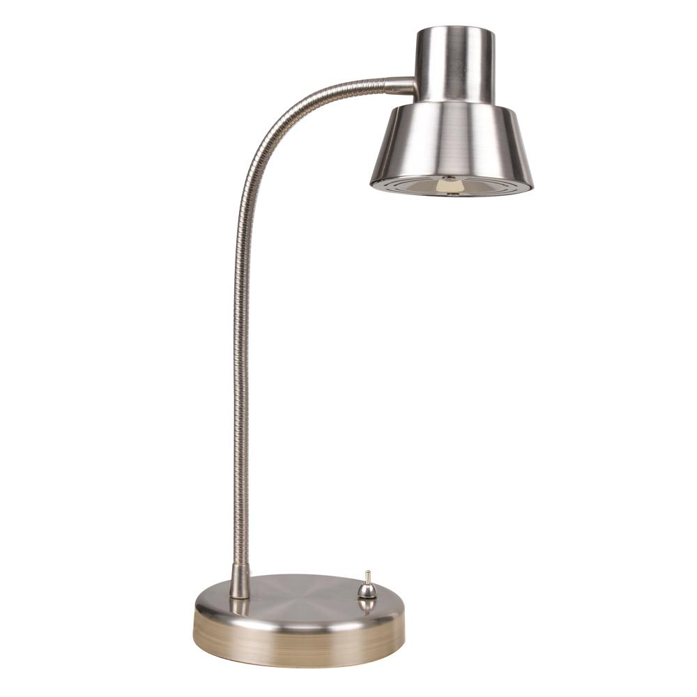 Gooseneck Lighting Catalina Lighting 14 In Integrated Led Brushed Nickel Gooseneck Desk Lamp