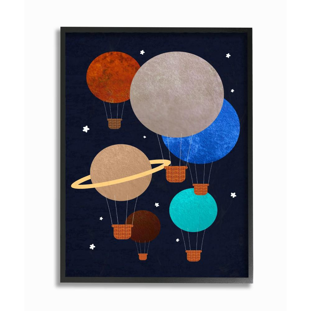 Planets Wall Art 11 In X 14 In