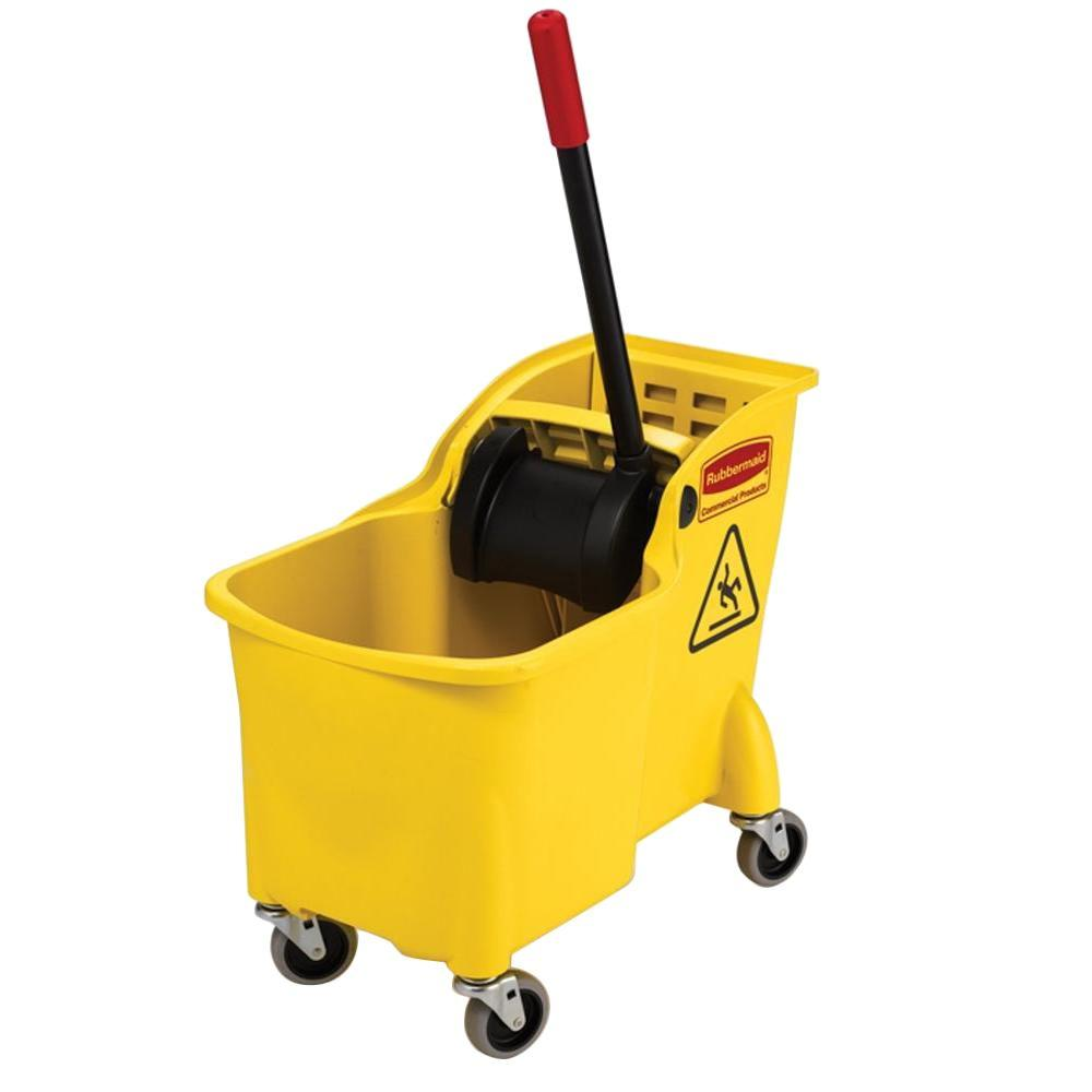 Rubbermaid Commercial Products 31 Qt Tandem Mop Bucket