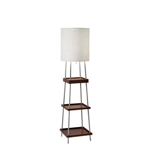 Medium Of Floor Lamp With Shelves
