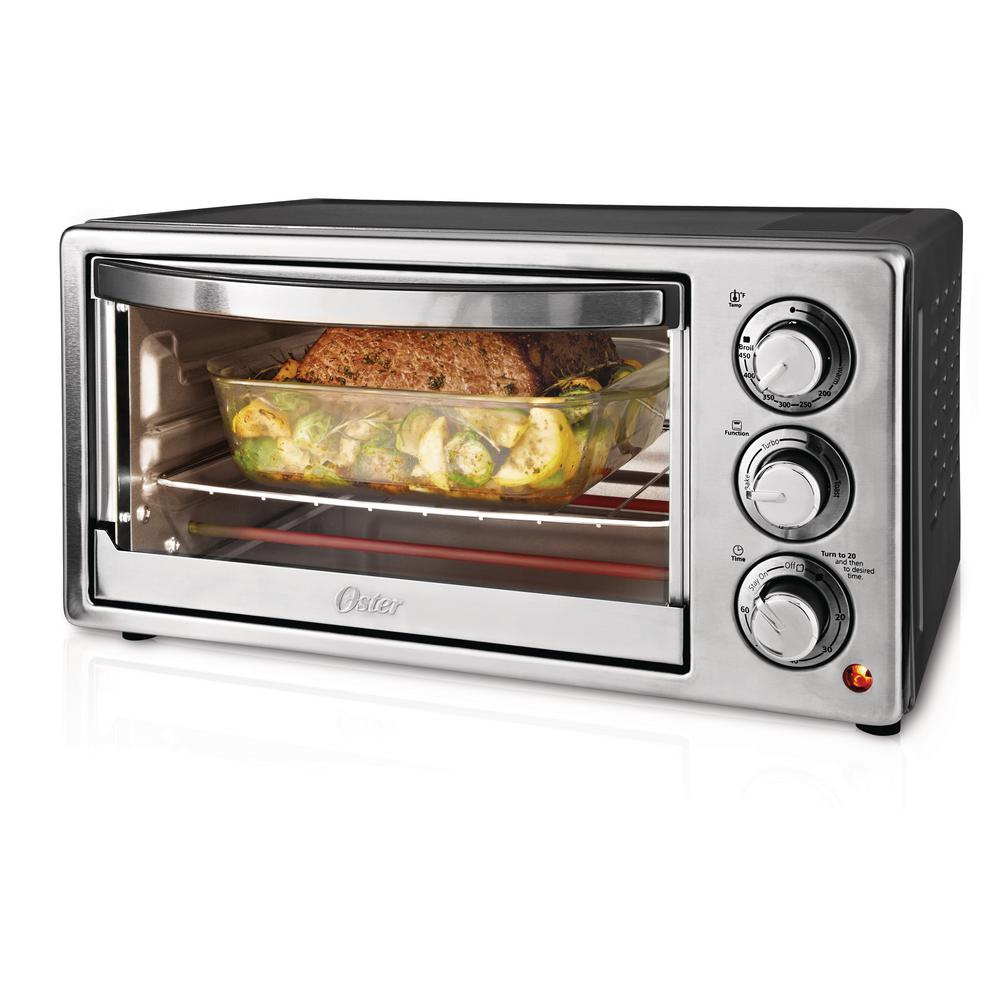 Oster Convection Countertop Oven Reviews 6 Slice Stainless Steel Convection Toaster Oven