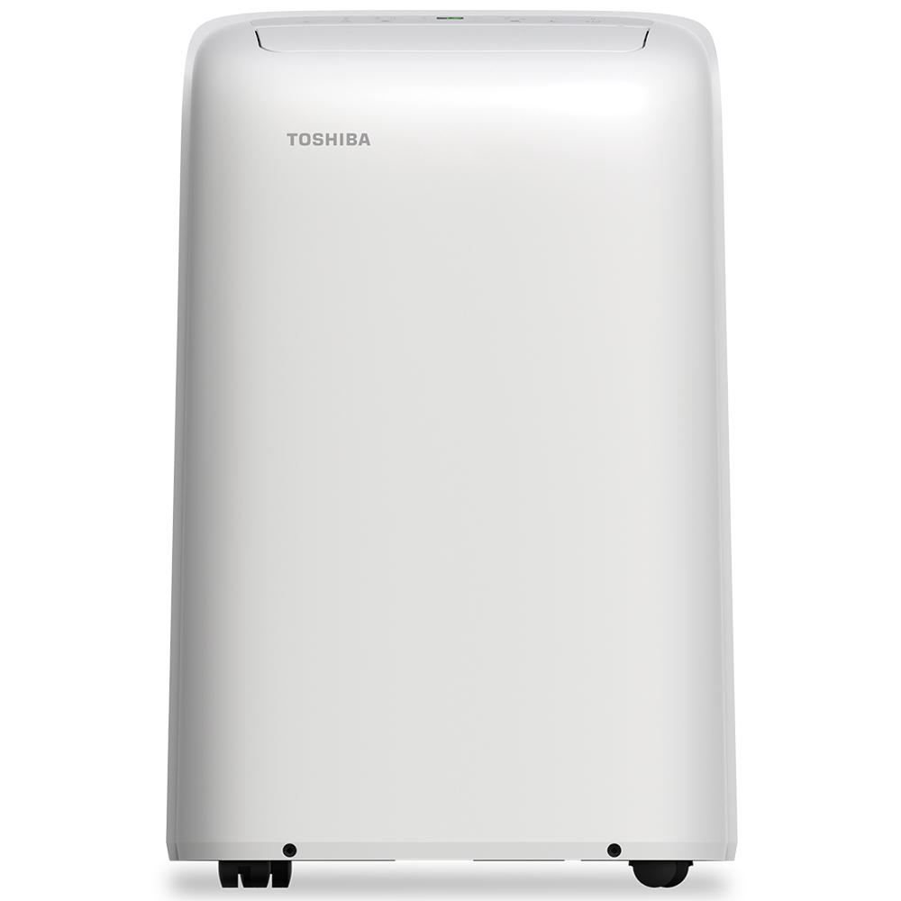 Portable Ac Home Depot Toshiba 8 000 Btu 6 000 Btu Doe 115 Volt Portable Ac With Dehumidifier Function And Remote Control In White