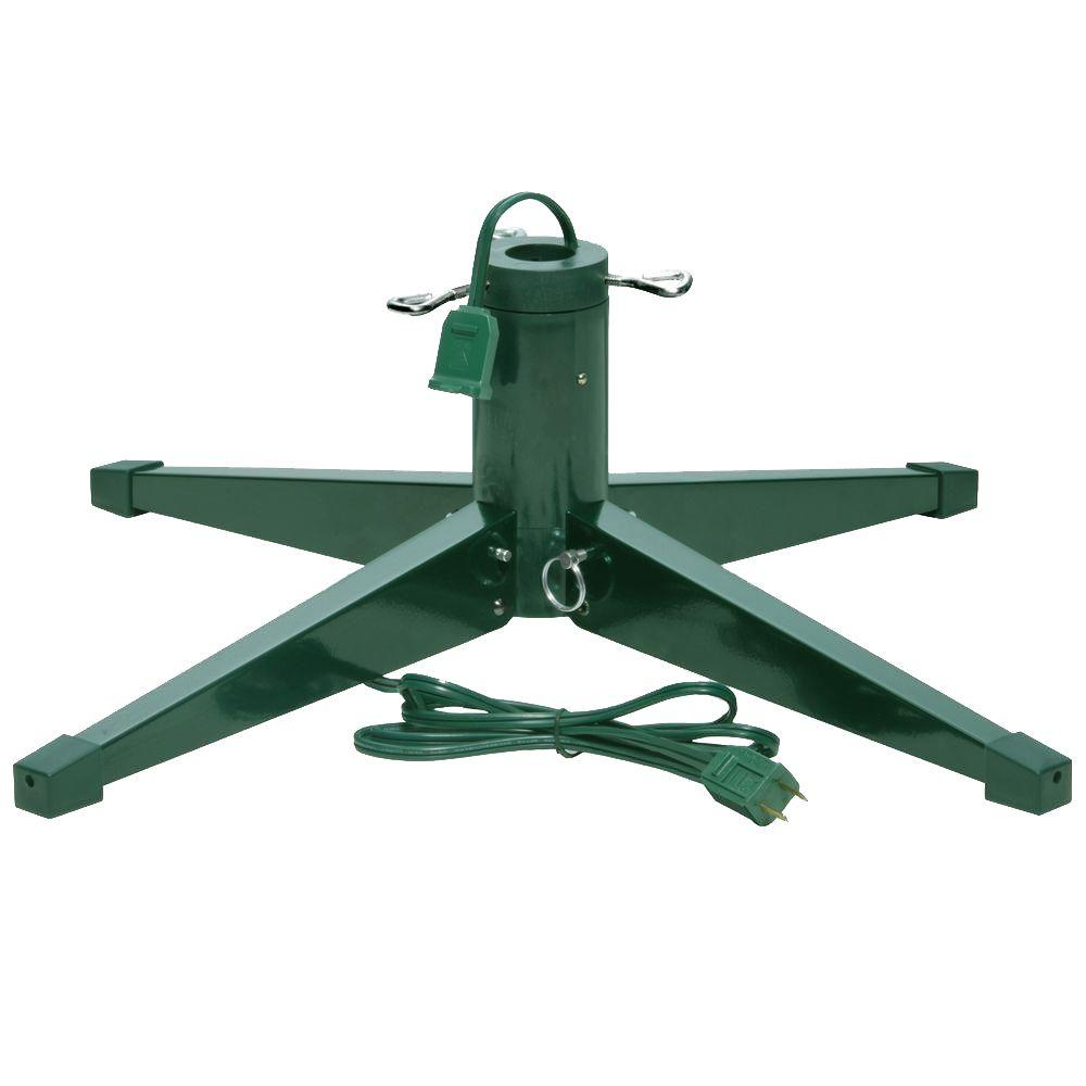 How To Make Your Own Tree Stand Metal Revolving Tree Stand For Artificial Trees