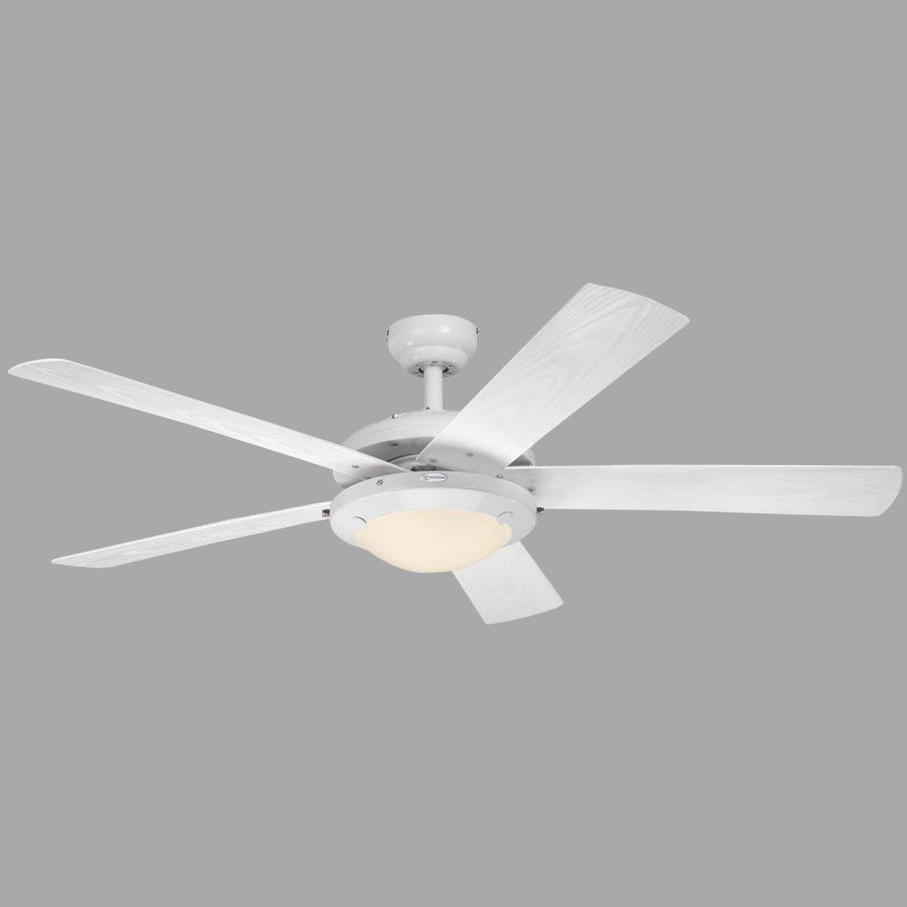 Westinghouse Comet 52 in. White Indoor/Outdoor Ceiling Fan