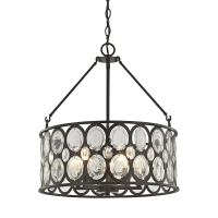 Titan Lighting Serai 5-Light Oil Rubbed Bronze Chandelier ...