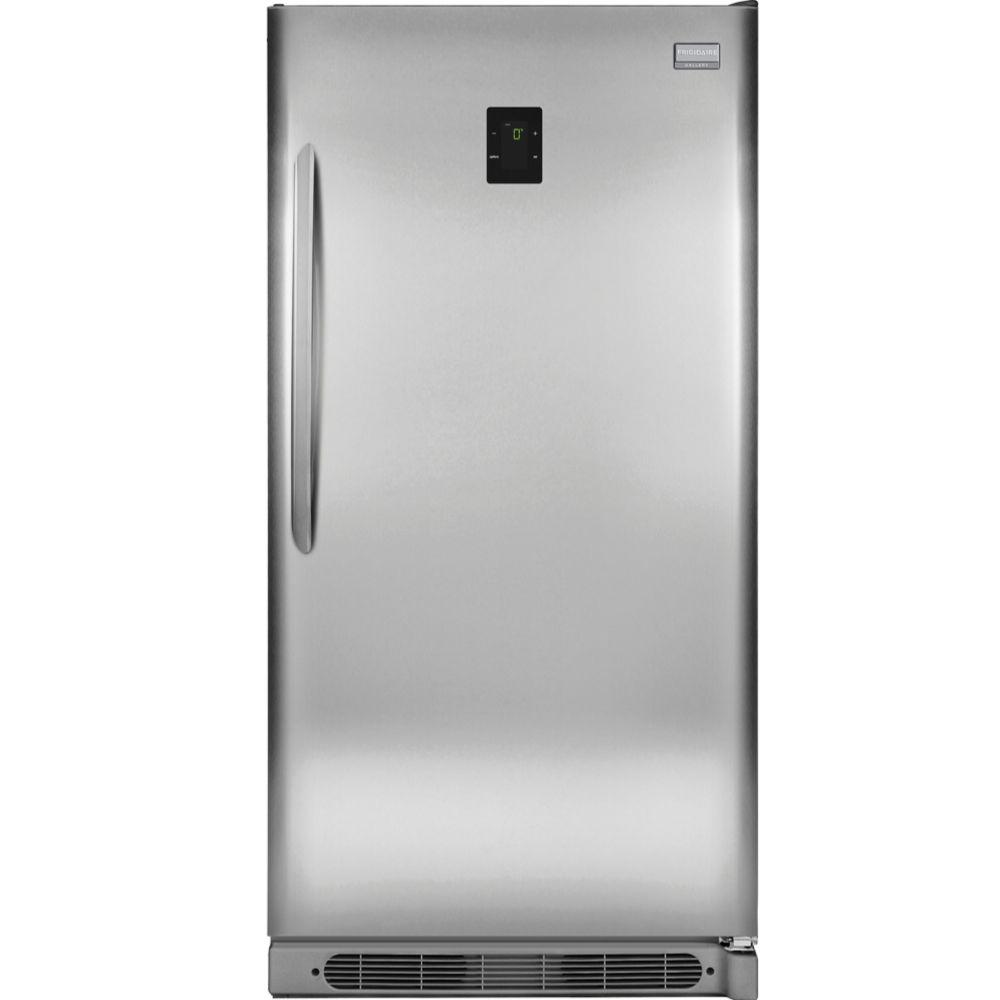 Small Stand Up Freezer 20 5 Cu Ft Frost Free Upright Freezer Convertible To Refrigerator In Stainless Steel Energy Star