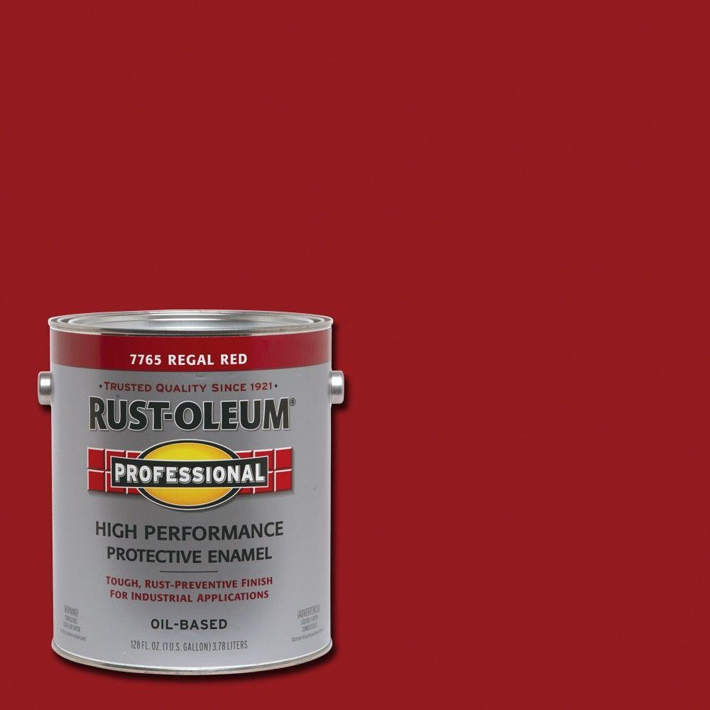 Industrial Regal Rust Oleum Professional 1 Gal High Performance Protective Enamel