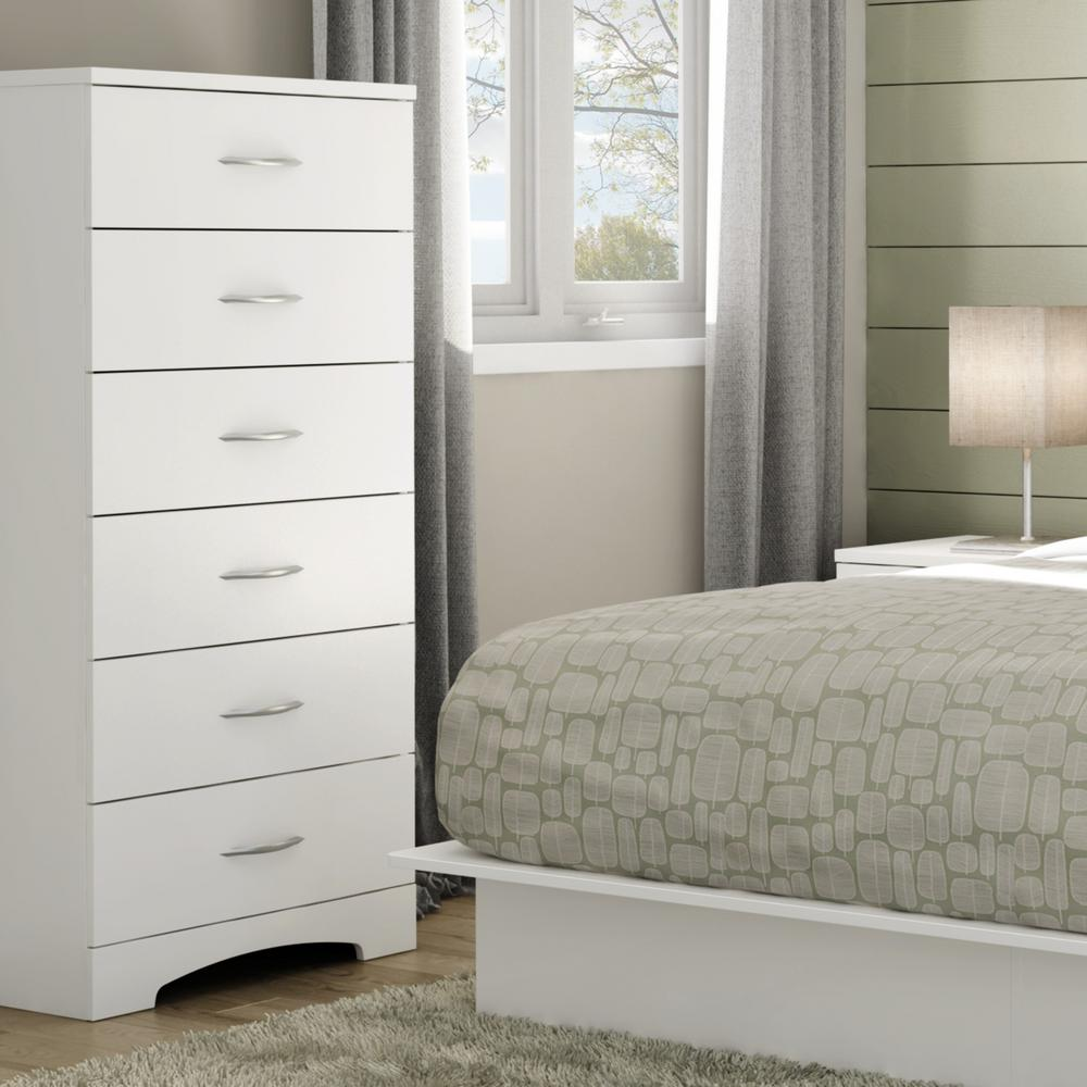 6 Drawer Chest Of Drawers Details About Bedroom Chest Dresser 6 Drawer Metal Handles White Clothes Storage Organizer
