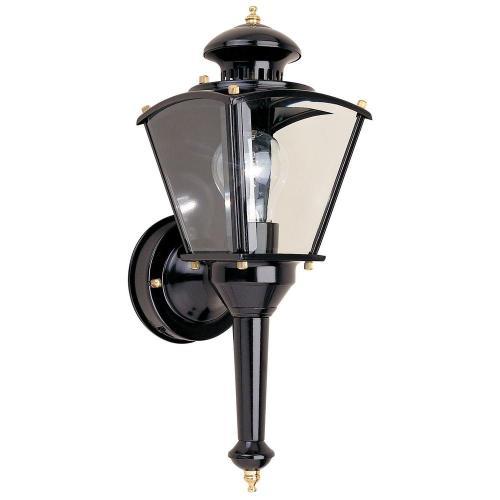 Riveting Hampton Bay Black Outdoor Wall Lantern Hampton Bay Black Outdoor Wall Motion Sensor Outdoor Wall Light Add Motion Sensor To Outdoor Wall Light