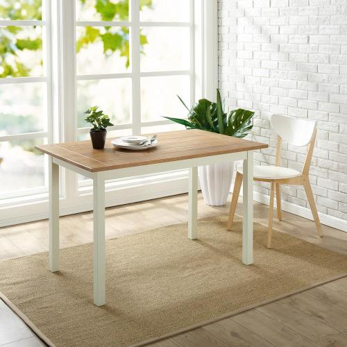 Medium Of Farmhouse Dining Table