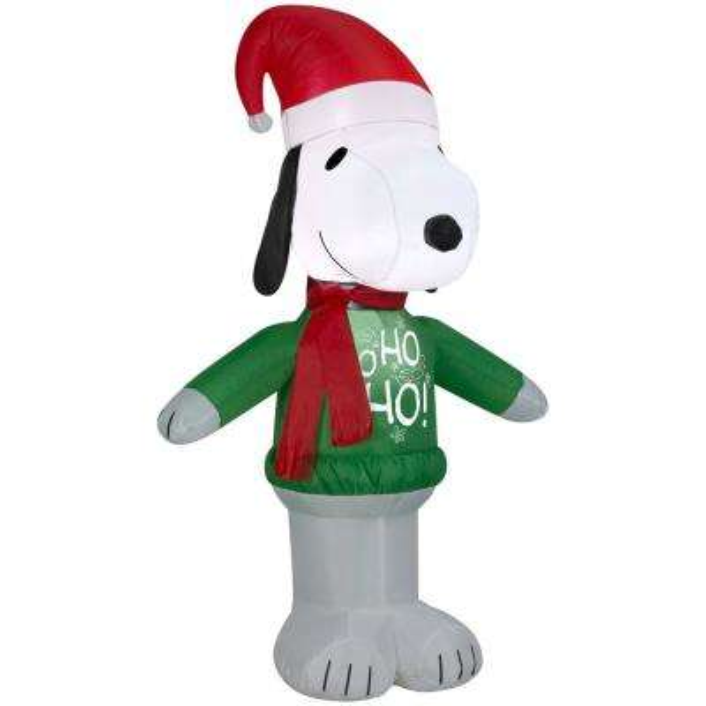 Christmas Inflatables - Outdoor Christmas Decorations - The Home Depot - moose christmas decorations