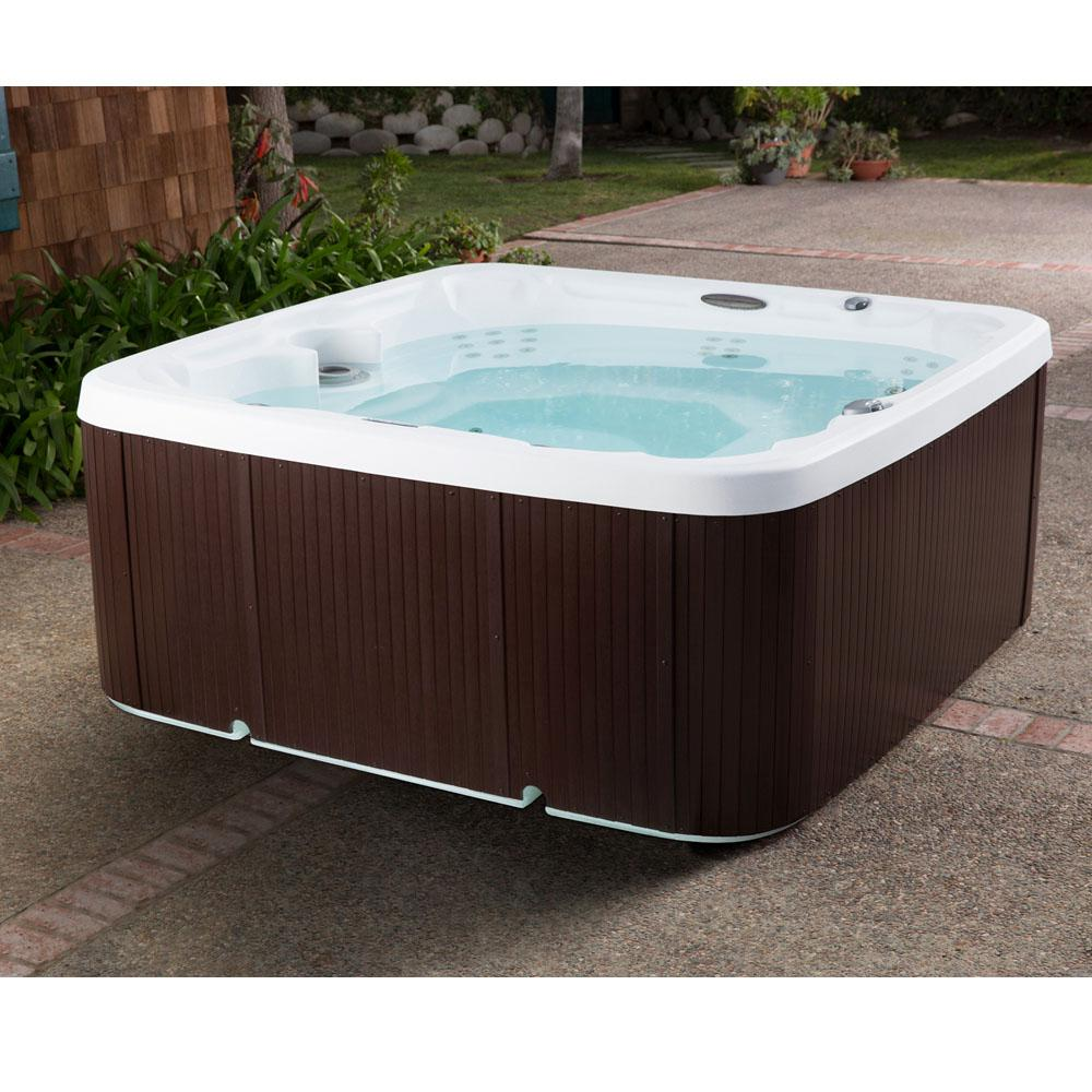 Outdoor Whirlpool Cheap Coronado Dlx Ls600dx 65 Jet 7 Person Spa