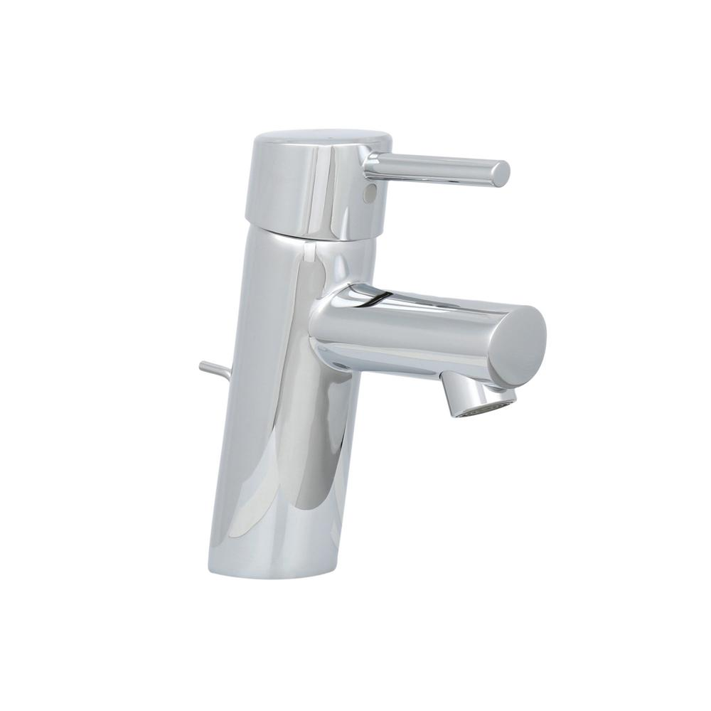 Grohe concetto 4 in centerset single handle bathroom faucet in starlight chrome 34270001 the home depot