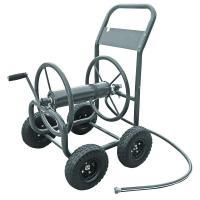 Hampton Bay 4-Wheel Hose Cart-840 - The Home Depot