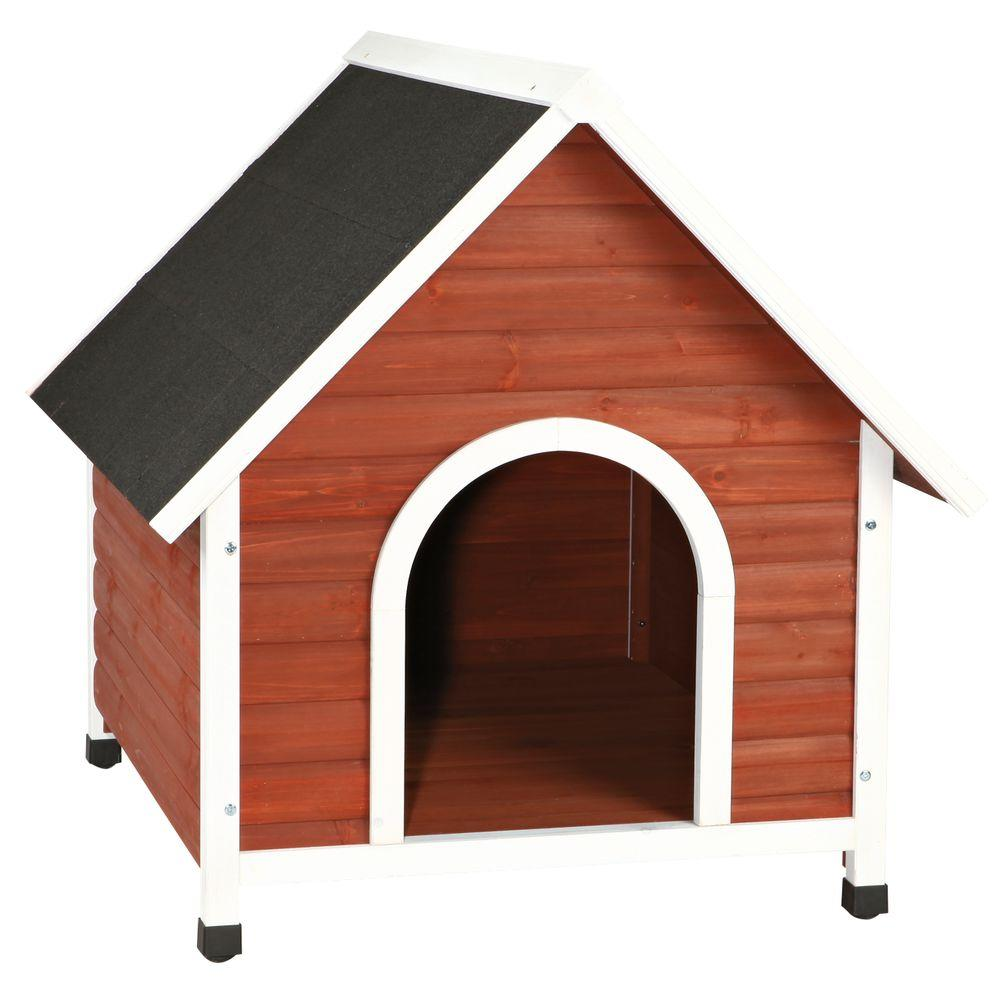 Dog House Trixie Nantucket Medium Dog House In Brown White