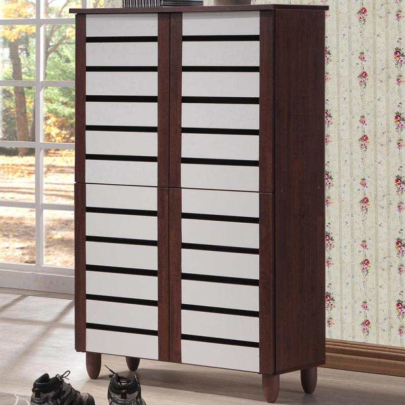 Large Of Tall Wood Storage Cabinets With Doors
