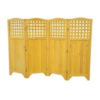 Leisure Season Folding Patio and Garden Privacy Screen ...