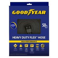 Goodyear 1/2 in. dia. x 50 ft. heavy duty flat hose ...