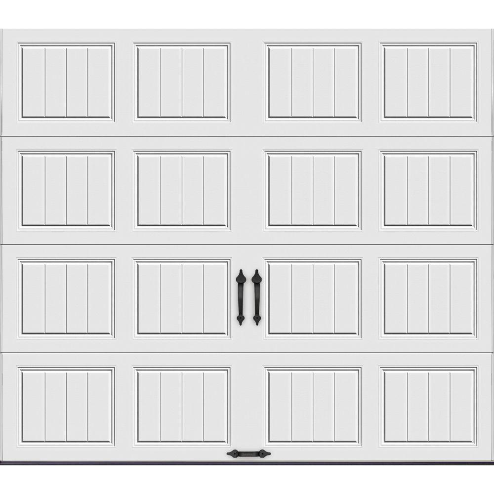 Garage Door Insulation Highest R Value Clopay Gallery Collection 9 Ft X 7 Ft 6 5 R Value Insulated Solid White Garage Door