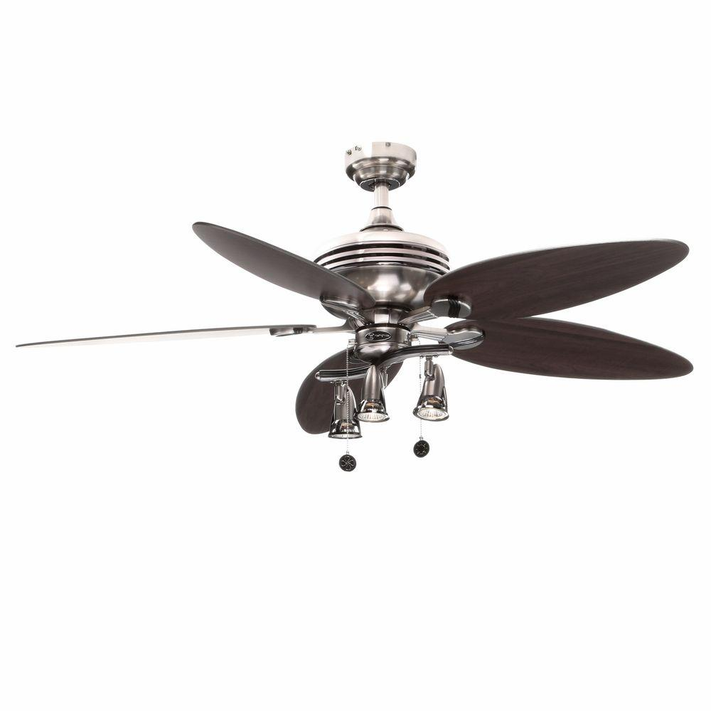Ceiling Fan Girls Room Westinghouse Xavier Ii 52 In Indoor Brushed Nickel Ceiling Fan