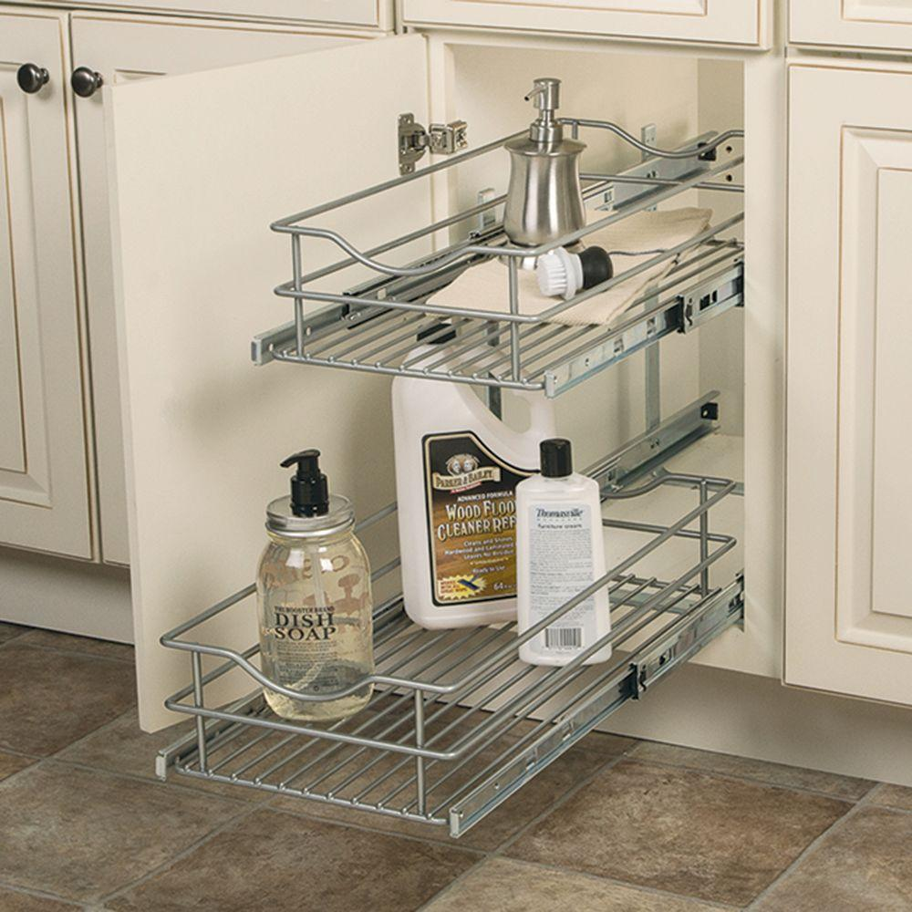 Kitchen Cabinets With Pull Out Shelves Pull Out Cabinet Drawers Pull Out Cabinet Organizers The Home