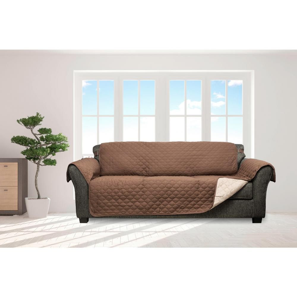 Couch Cover Sofa Slipcovers Living Room Furniture The Home Depot