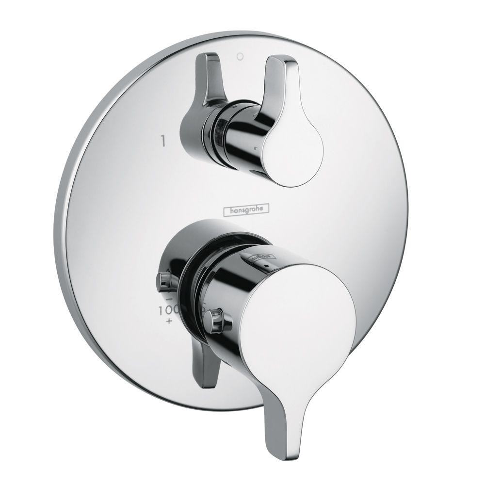 Hansgrohe Metris S E 2 Handle Thermostatic Valve Trim Kit - Hansgrohe Metris