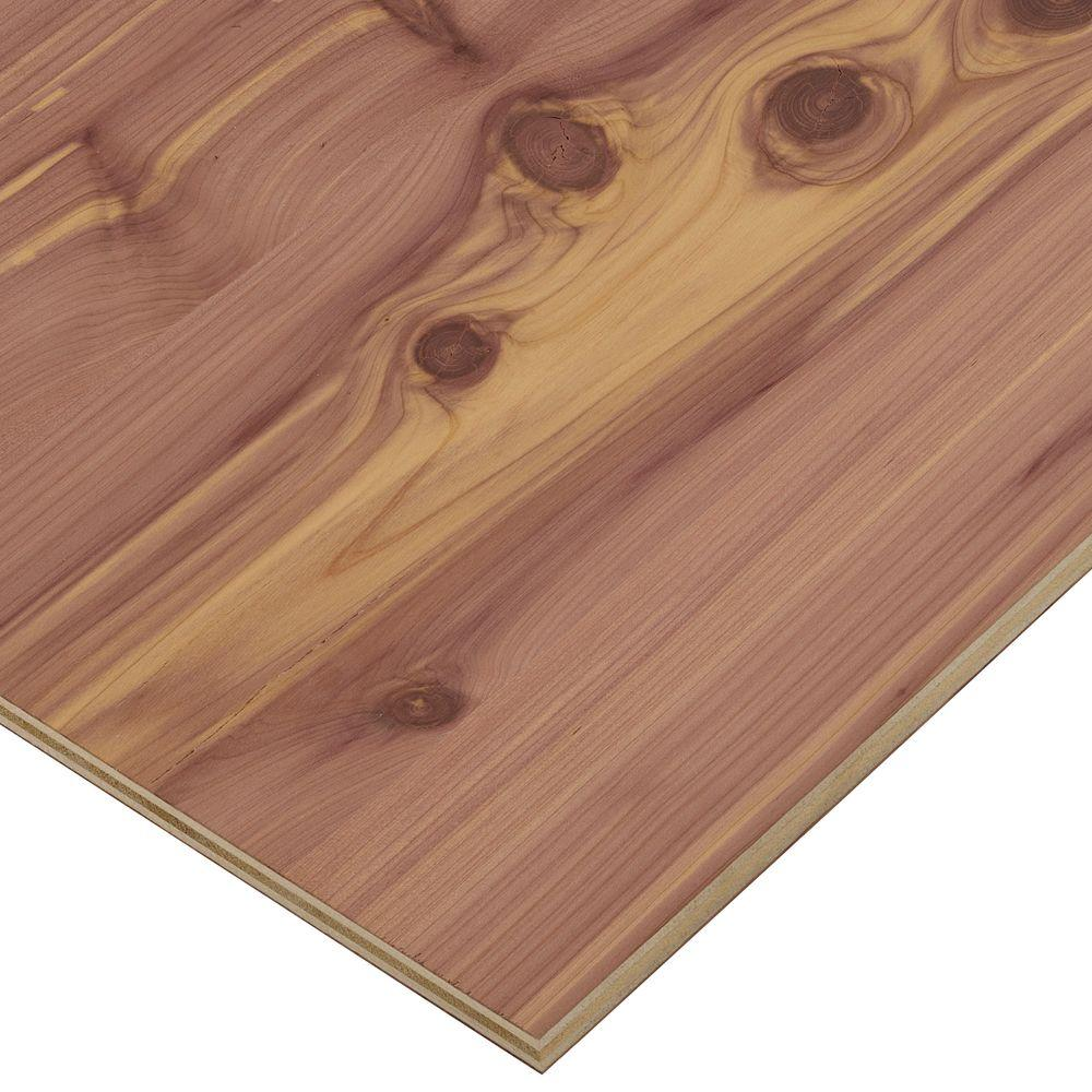 Half Inch Plywood 1 2 In X 2 Ft X 8 Ft Purebond Aromatic Cedar Plywood Project Panel Free Custom Cut Available
