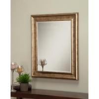 Sandberg Furniture Antique Gold Decorative Wall Mirror ...