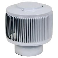 Active Ventilation Aura PVC Vent Cap 4 in. Dia Exhaust ...