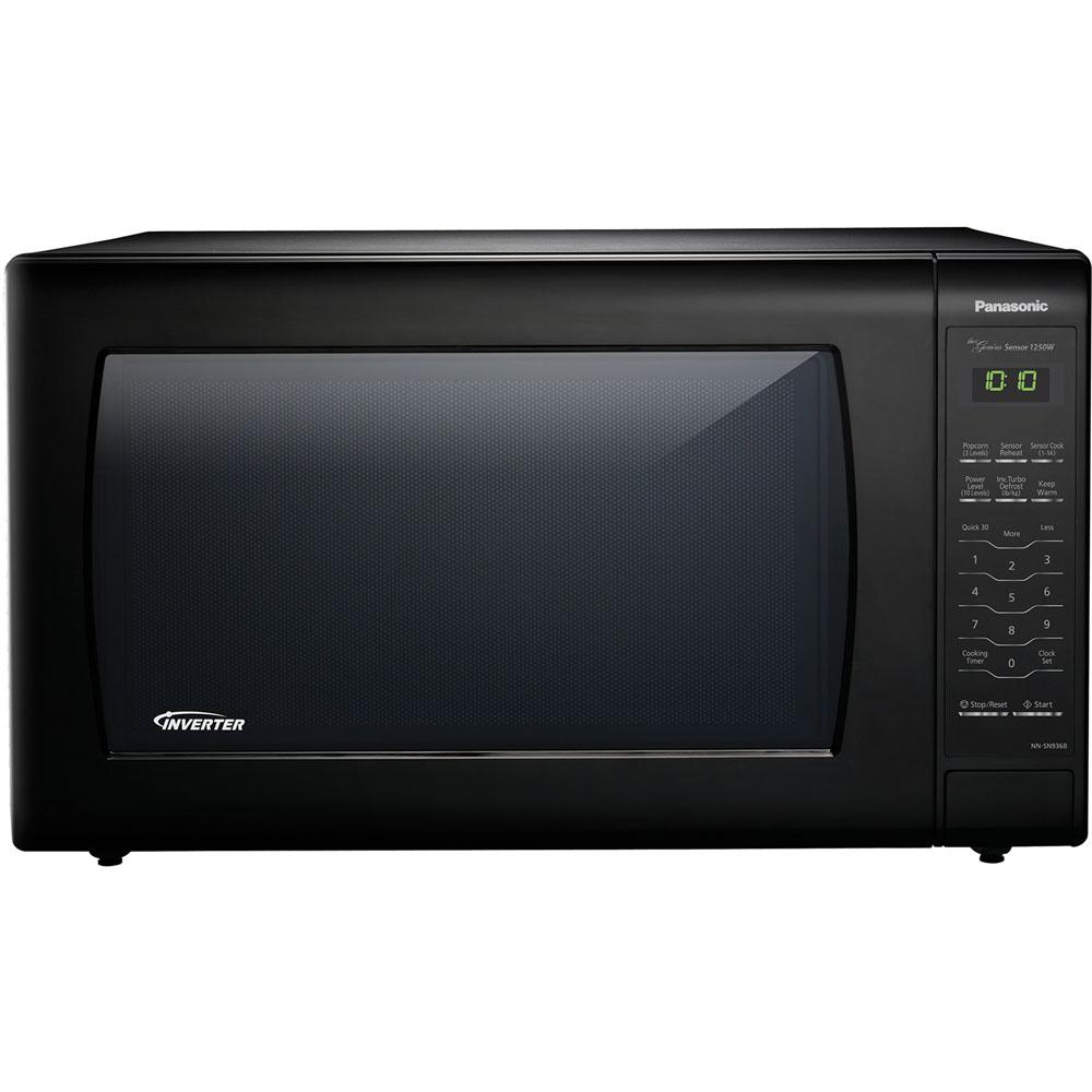 Lowes Countertop Microwaves 2 2 Cu Ft Countertop Microwave In Black Built In Capable With Sensor Cooking And Inverter Technology Black