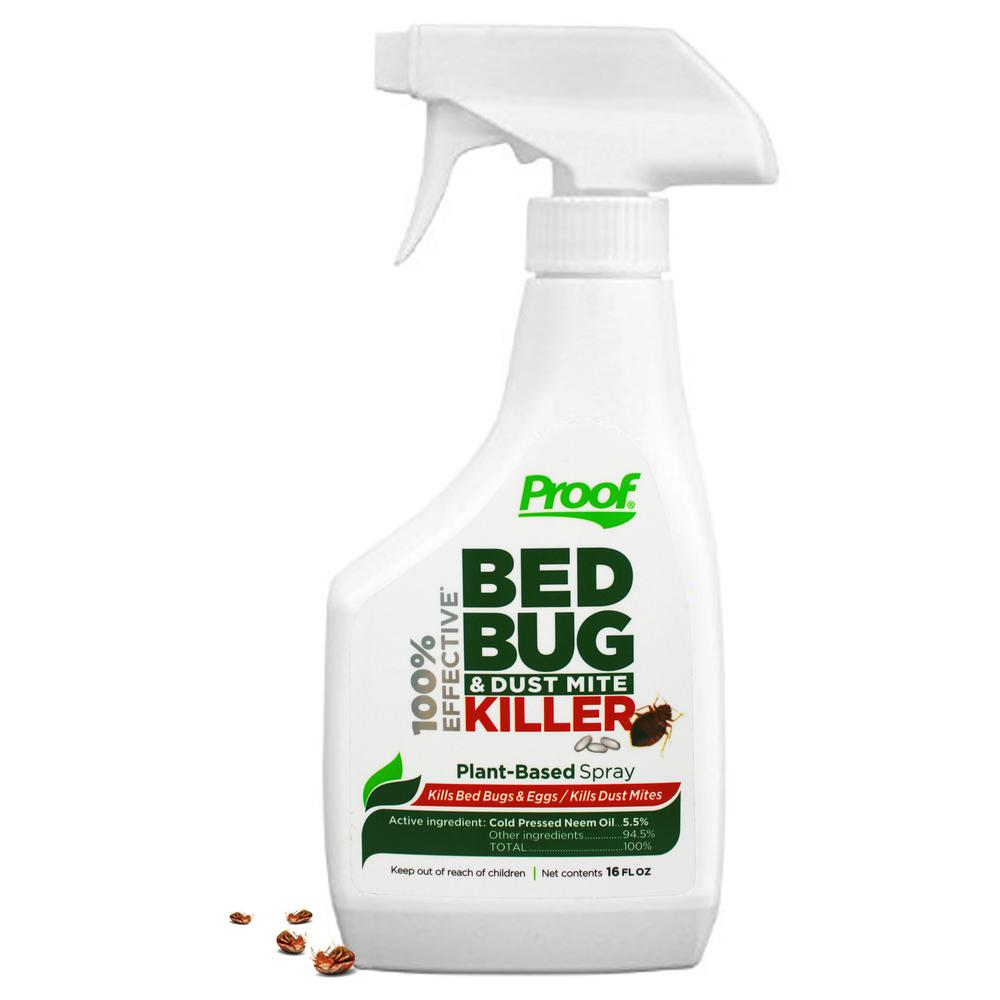 Spray To Kill Bed Bugs Proof Bed Bug Spray 100 Effective Lab Tested Bed Bug Killer