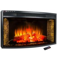 AKDY 33 in. Freestanding Electric Fireplace Insert Heater ...