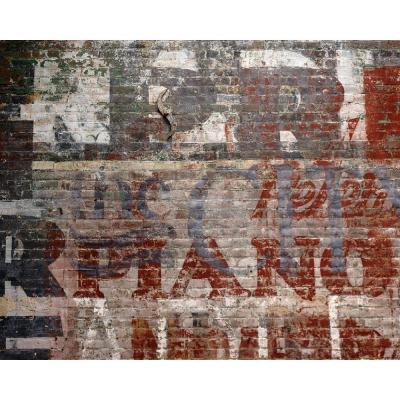 Brewster Warehouse Brick Wall Mural-WR50507 - The Home Depot