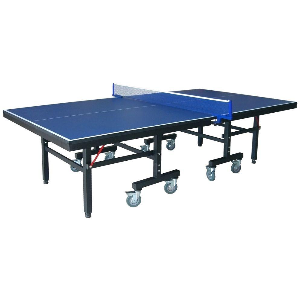 Mesa Ping Pong Medidas Victory Professional 9 Ft Table Tennis Table With 25mm Thick Surface 2 In Steel Supports