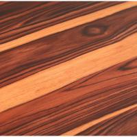 TrafficMASTER Allure 6 in. x 36 in. African Wood Dark ...