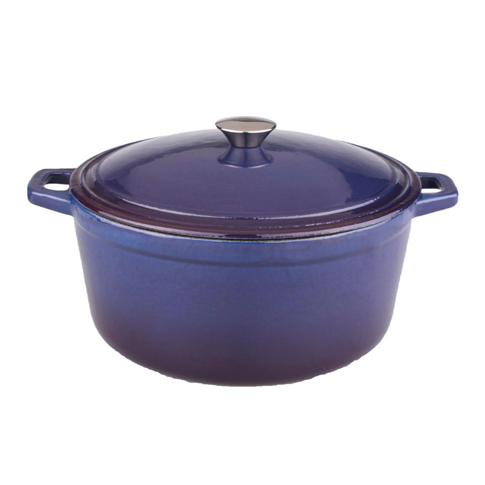Cast Iron Casserole Dish Neo 5 Qt Purple Oval Cast Iron Casserole Dish With Lid