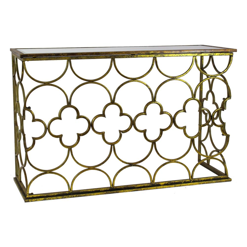 Old Marble Metal Console Tables Sale Myra G Metal Console Table Myra G Metal Console Home Depot Metal Console Table houzz-02 Metal Console Table