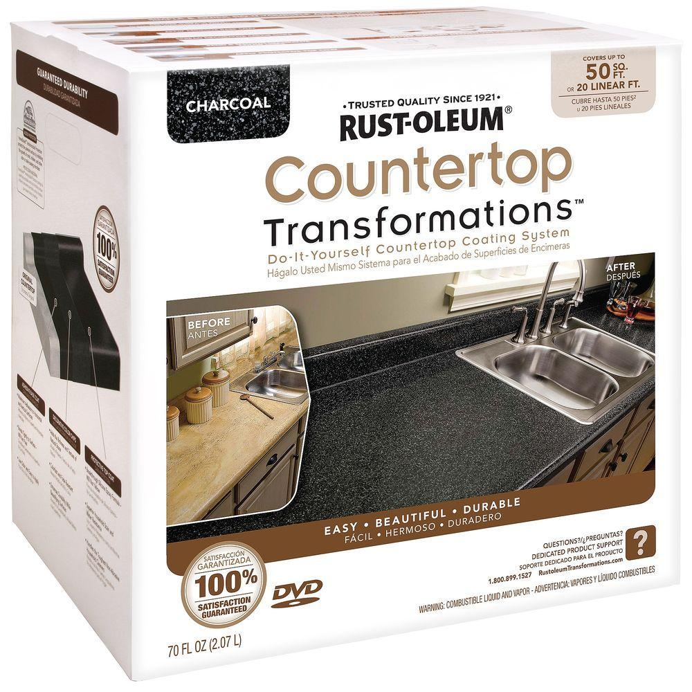 How To Remove Sharpie From Countertop Rust Oleum Transformations 70 Oz Charcoal Large Countertop Kit