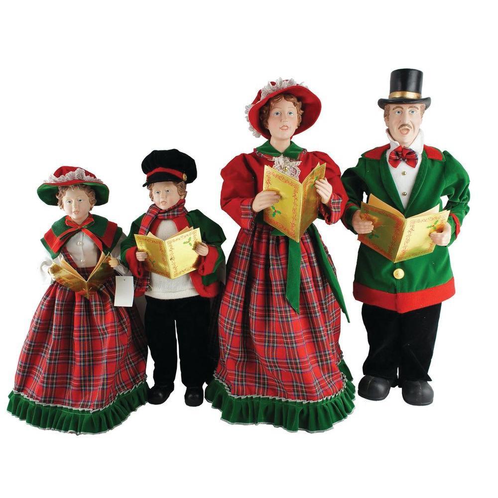 Santau0027s Workshop - Christmas Figurines \ Collectibles - Indoor - christmas carolers decorations