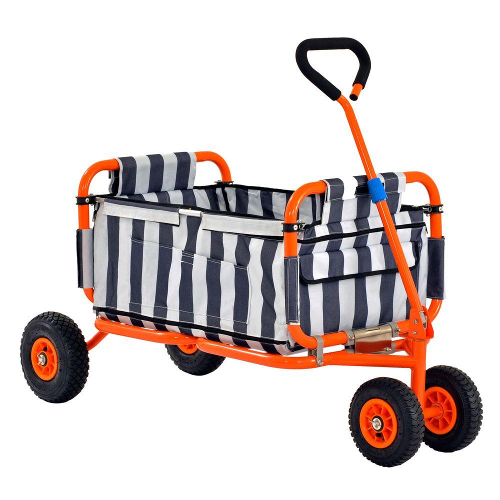 A Frame Trolley Sandusky 5 Cu Ft Folding Utility Cart
