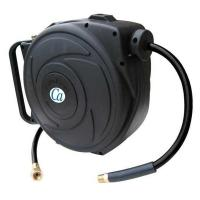 3/8 in. x 50 ft. Retractable Closed Hose Reel with PVC Air ...