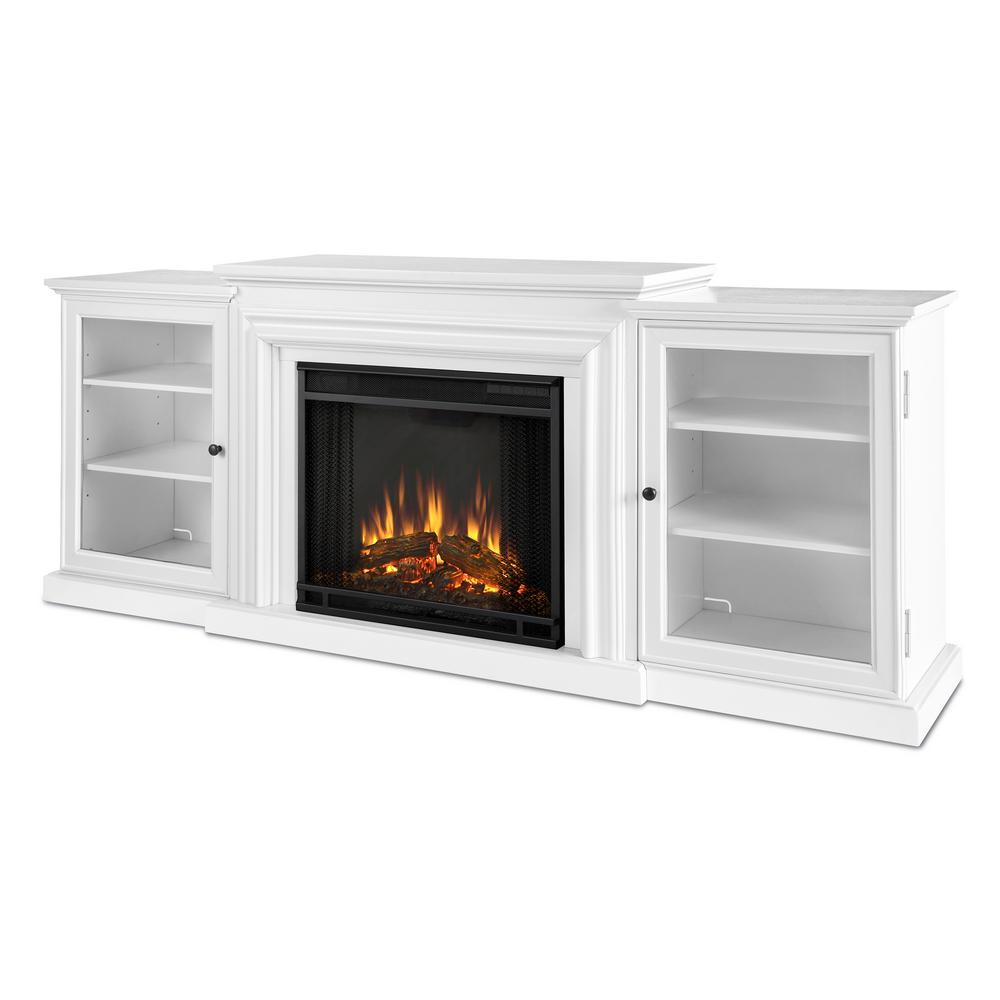 Fireplace Tv Stand Home Depot Real Flame Frederick 72 In Freestanding Electric Fireplace Tv Stand Entertainment Center In White