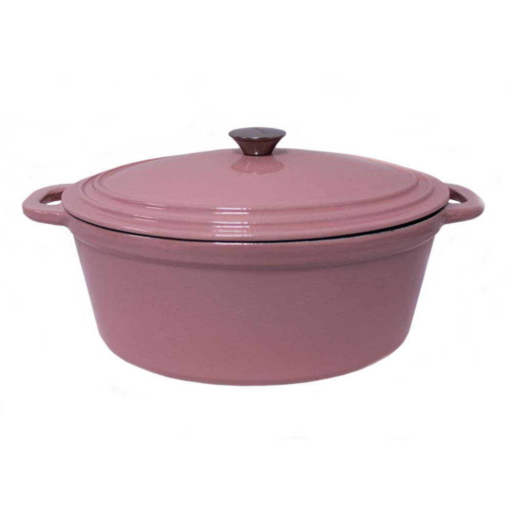 Cast Iron Casserole Dish Neo 8 Qt Pink Cast Iron Covered Casserole Dish