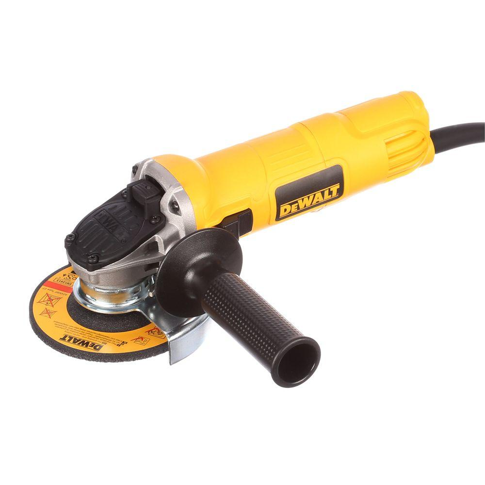 Dewalt Angle Grinder Dewalt 7 Amp 4 1 2 In Small Angle Grinder With 1 Touch Guard