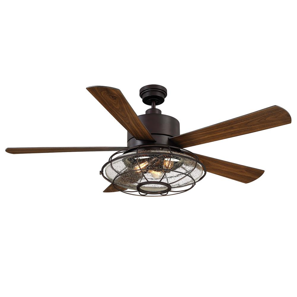 Industrial Style Ceiling Fans Filament Design 56 In English Bronze Ceiling Fan