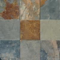 MS International Multi Color 12 In. x 12 In. Gauged Slate ...